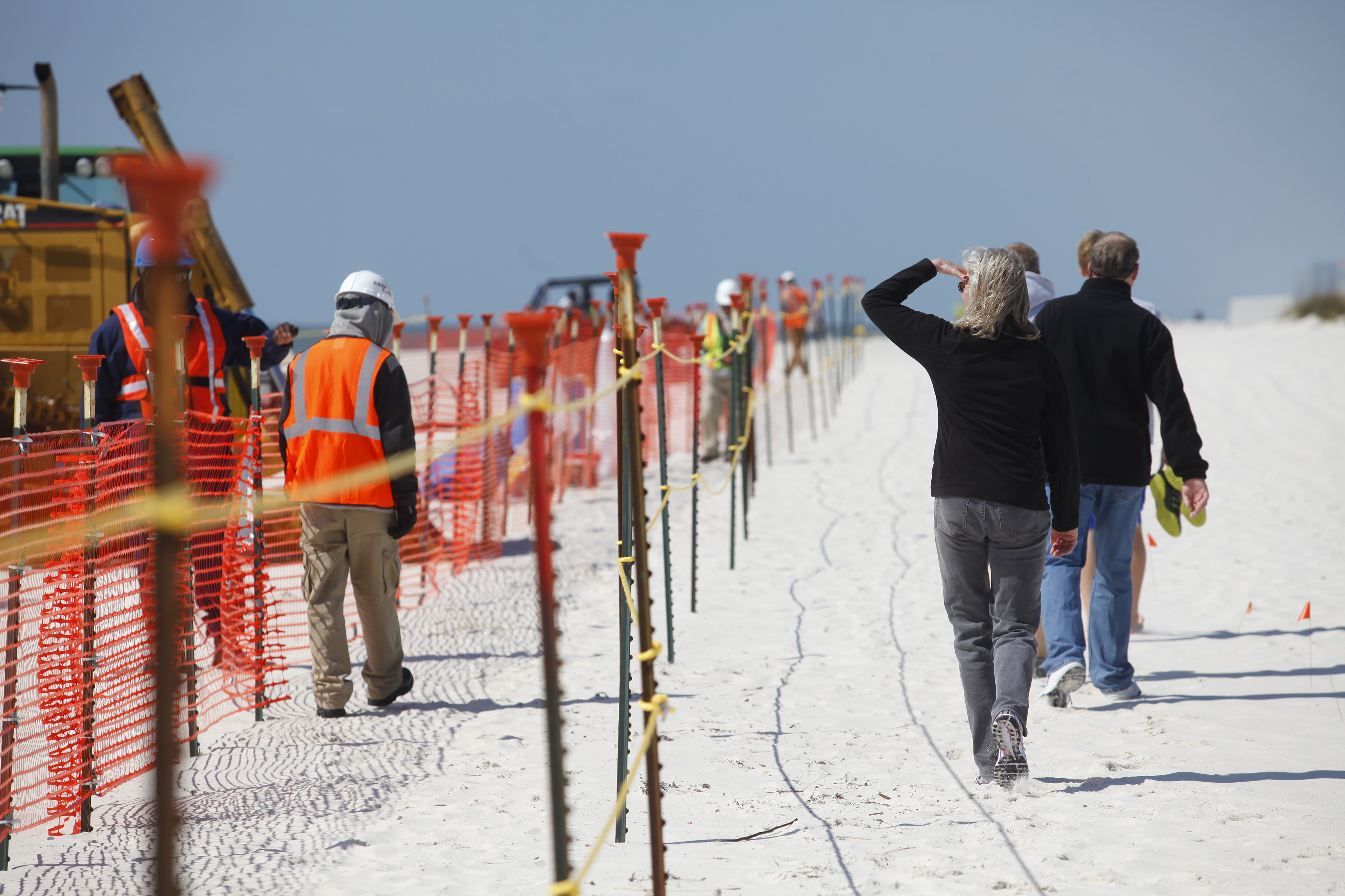 Flood Defense Efforts Stall Even as Storms Literally Cut up Perdido Key